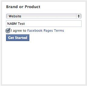 Facebook Fanpage - brand or product