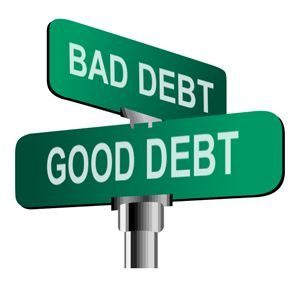 use good debt and avoid bad debt to become a millionaire
